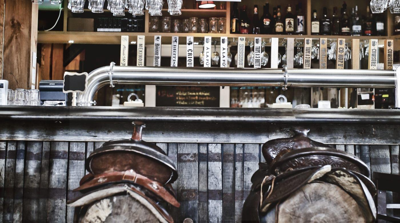 À la Fût | Saloon of St-Tite