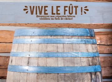 En octobre, on célèbre les bières vieillies en fût de chêne chez À la Fût!