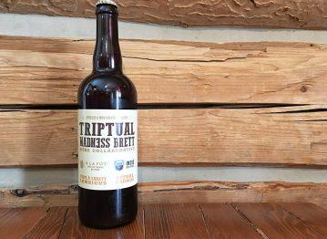 À la Fût brasse une bière collaborative avec Indie Ale House de Toronto : la Triptual Madness Brett!