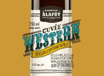 Lancement de notre premier produit avec fermentation spontanée, la Cuvée Western version expérimentale!