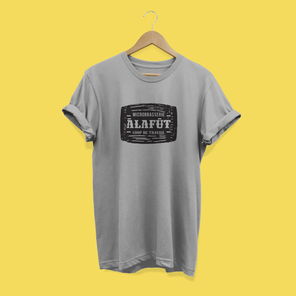 Tshirt gris À la Fût – femme