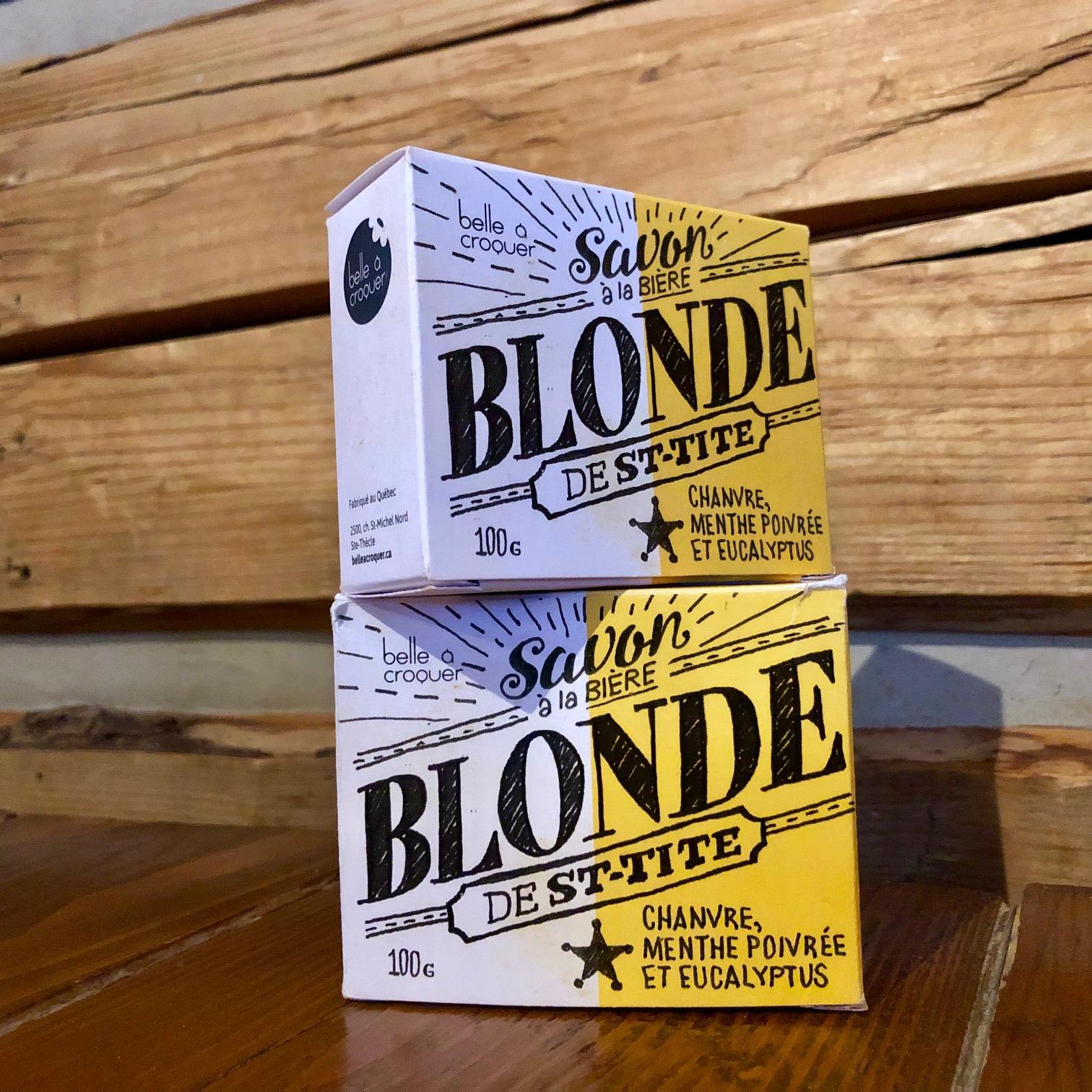 Savon Belle à croquer – Blonde de St-Tite