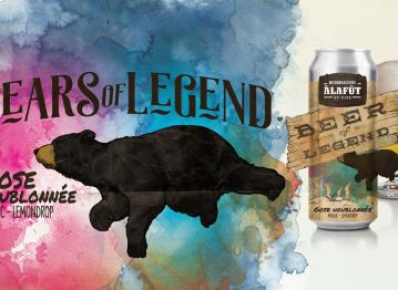 Beer of Legend : une Gose houblonnée brassée pour les ours!