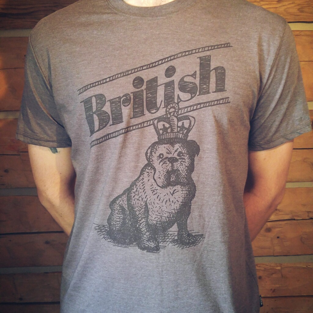 Tshirt British – homme