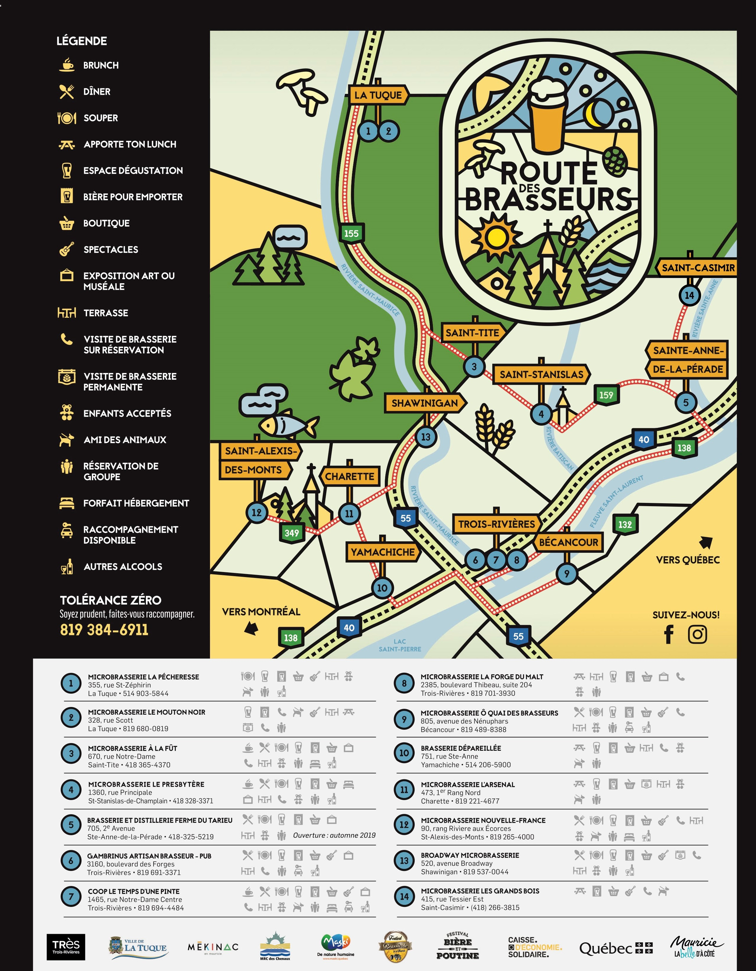 Passeport Route des Brasseurs (kit complet)