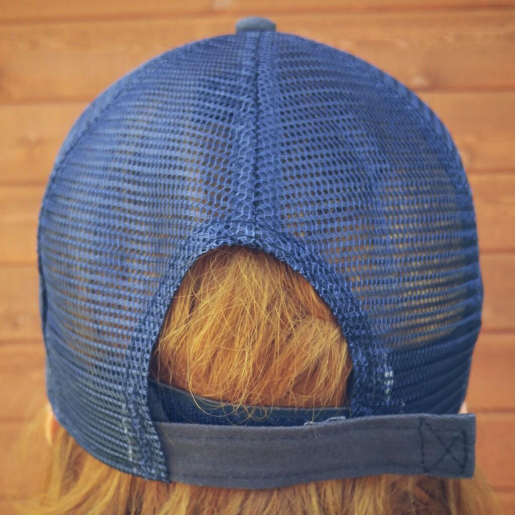 Casquette unisexe – bleue