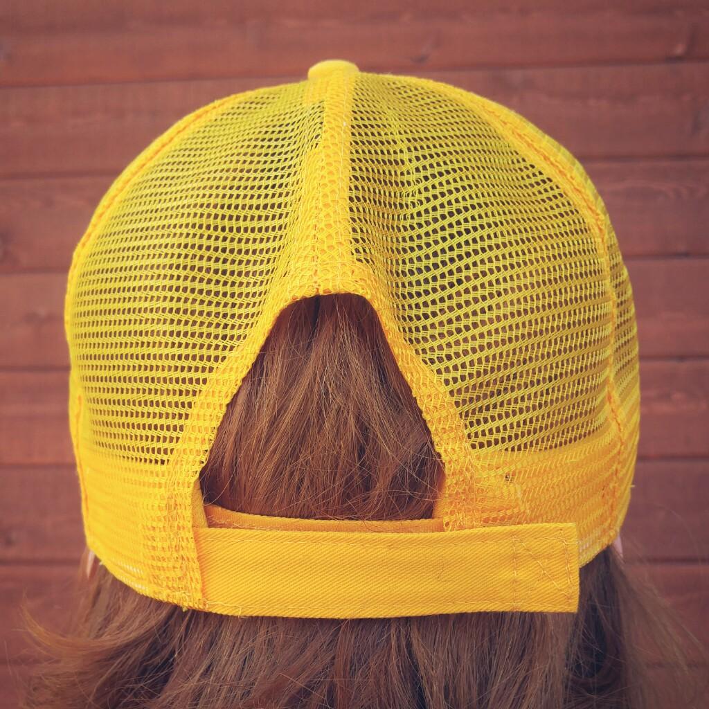 Casquette unisexe – jaune
