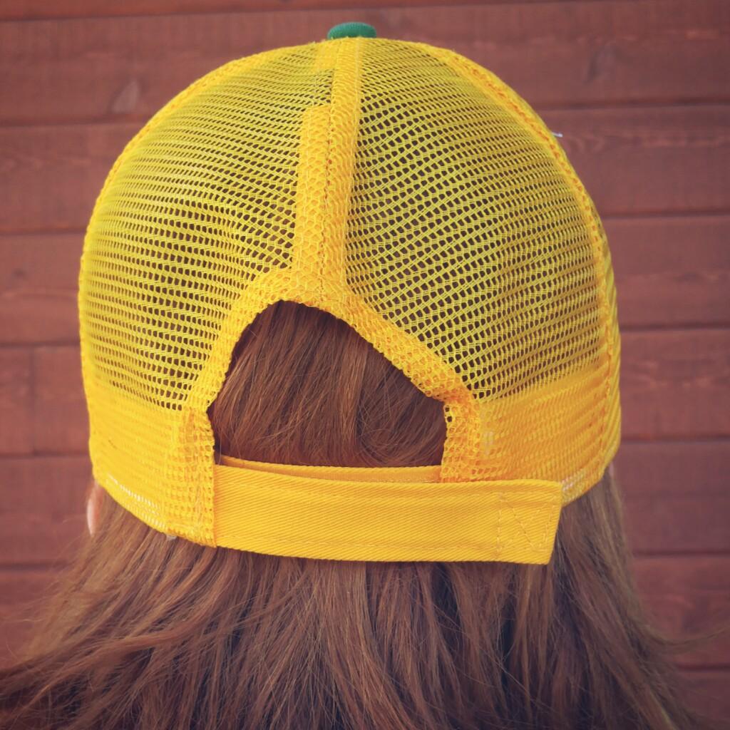 Casquette unisexe – jaune et verte