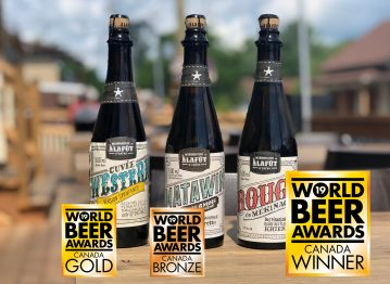 3 médailles au World Beer Awards Canada 2019!
