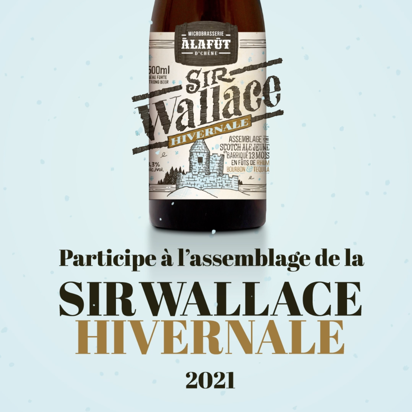 Atelier d'assemblage de la Sir Wallace 2021