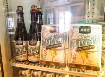 Nouveauté! Fondue au fromage à la bière Matawin!