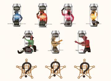 Série « Wanted » du chai : des brassins barriqués en canettes!