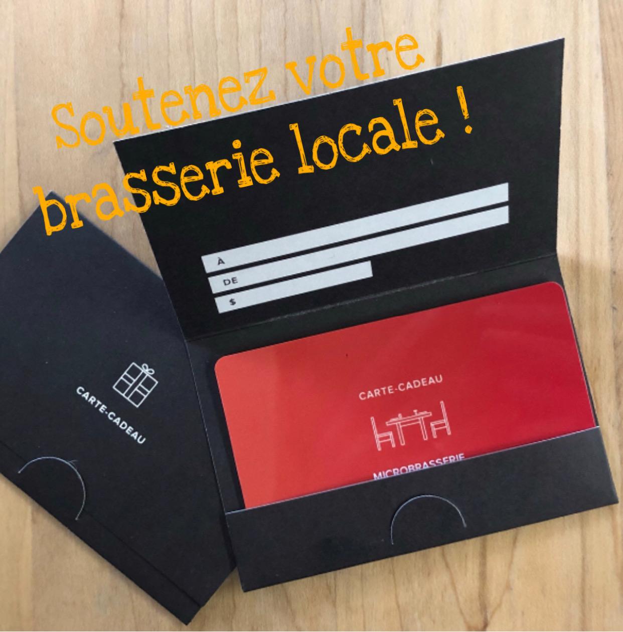 Carte Cadeau Solidaire – valeur 25$ payez 22$!