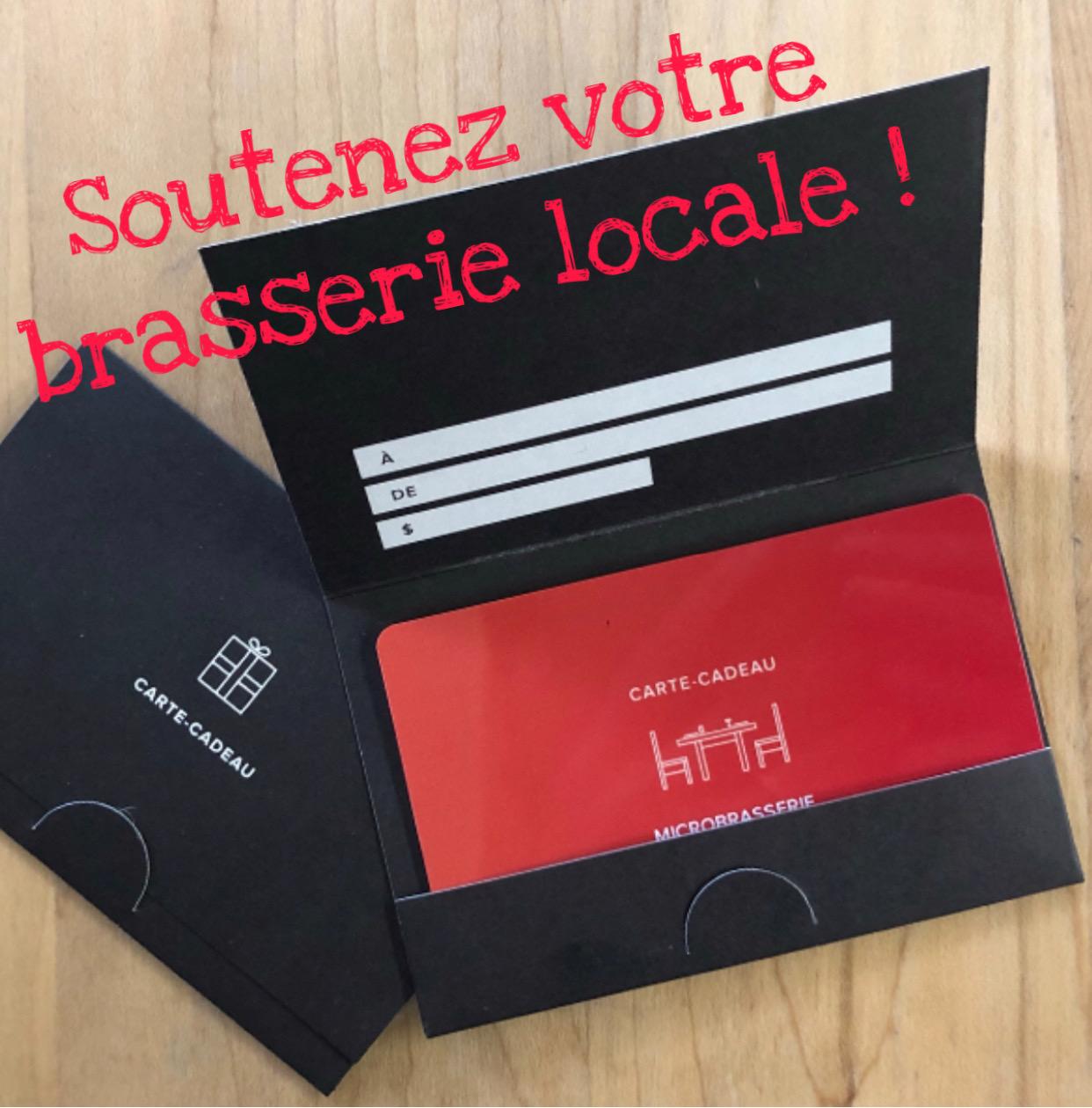 Carte Cadeau Solidaire – valeur 100$ payez 75$!