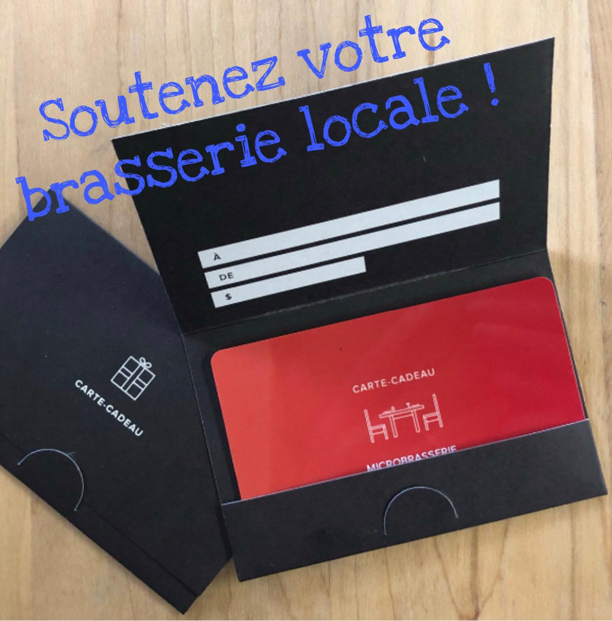 Carte Cadeau Solidaire – valeur 50$ payez 40$!