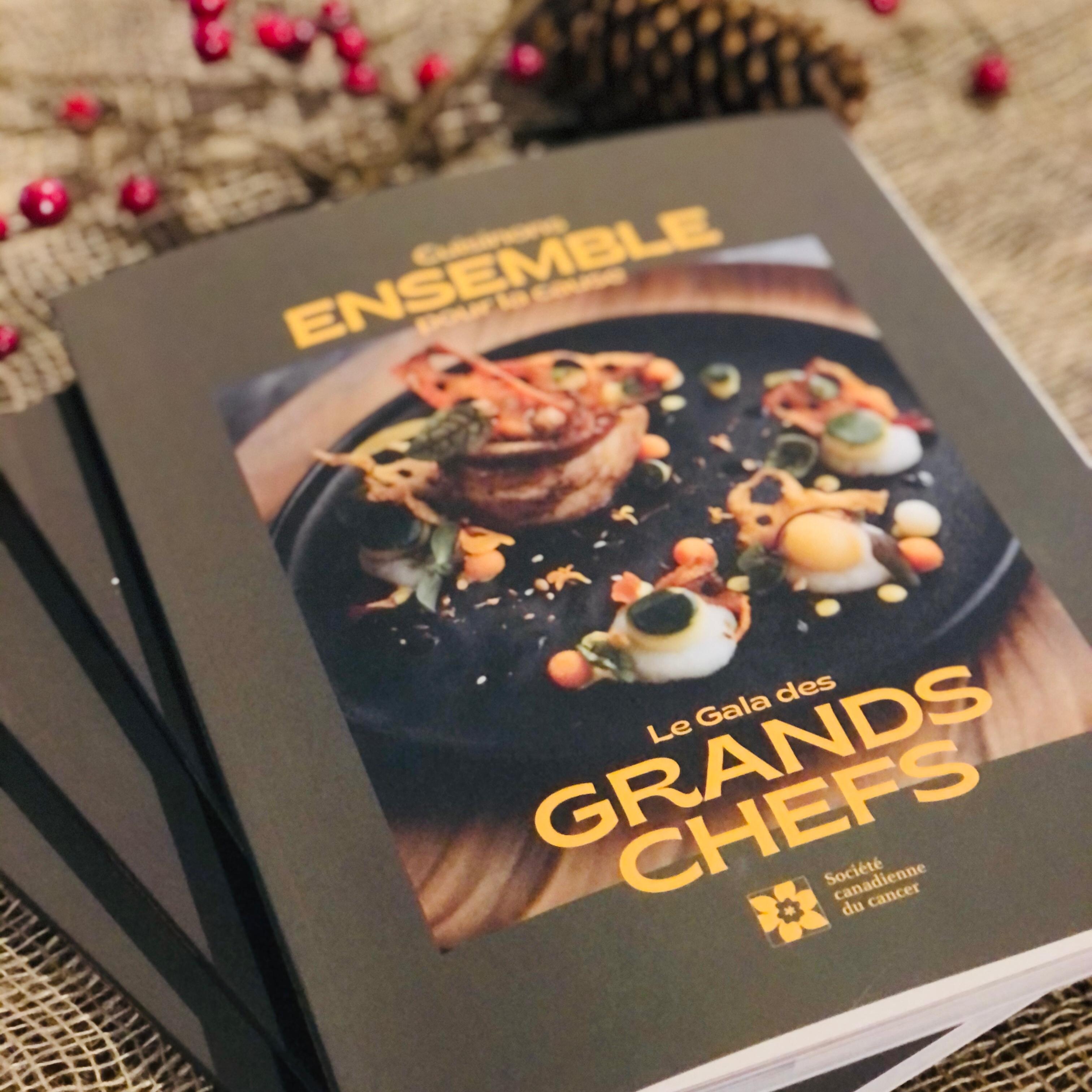Livre de recette Gala des Grands Chefs
