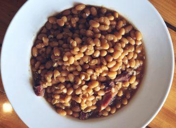Beans à la British à l'érable