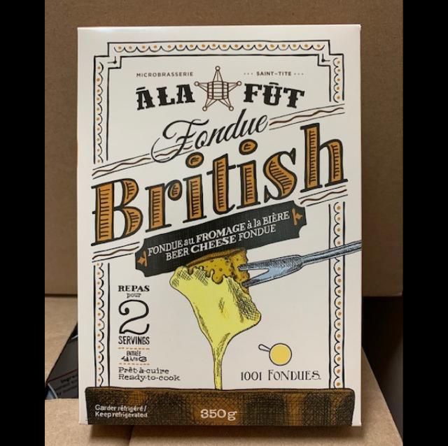 Fondue au fromage British
