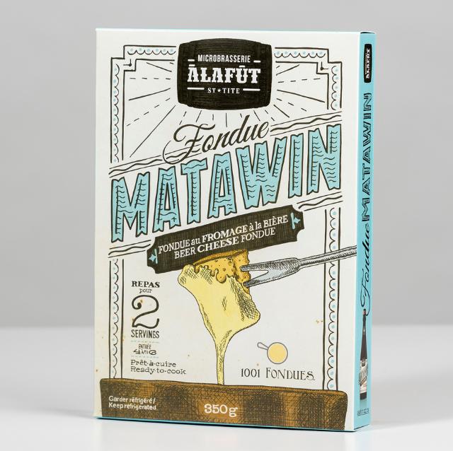 Fondue au fromage Matawin