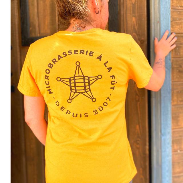 T-shirt jaune femme